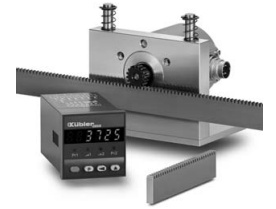 Система измерения линейного перемещения с реечной передачей