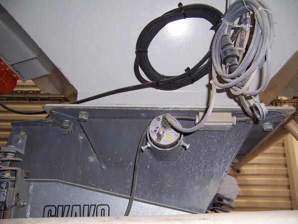 Датчик HP-II в бункере