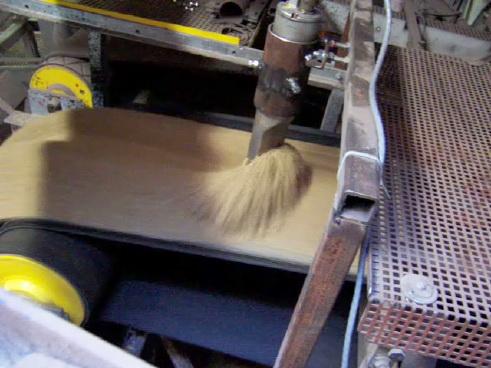 Измерение влажности на конвейере (HP-II)