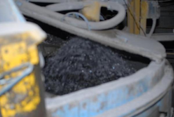 Распыл воды в смесителе