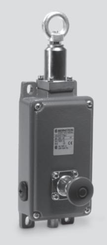 Выключатель безопасности промышленный SIN-UV1, с тяговым шнуром (Bernstein)