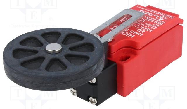 Концевой выключатель ED-1-1-27, с вращательным роликом и рычагом (Highly)