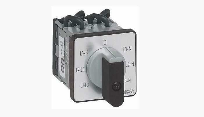 Кулачковый переключатель PR17 1101 A8 EQ48PN (Baco)