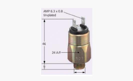 Реле давления мембранное 42 В, 0166415011057 (Suco)