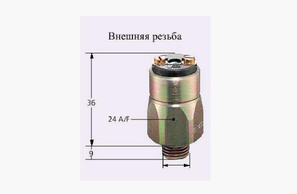 Реле давления мембранные 42 В, 0166405031019 (Suco)
