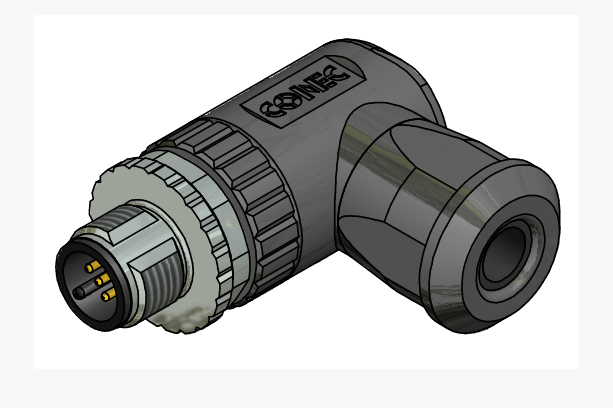 Разъем 43-00106, для подключения датчика (Conec)