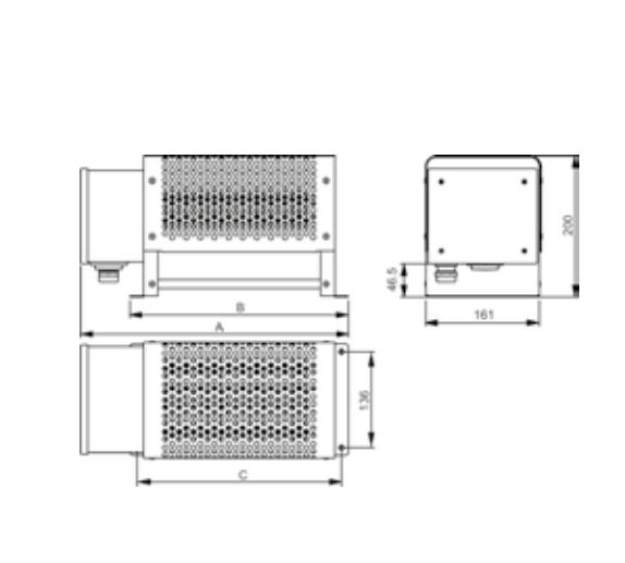 Модель RITE, трехфазный промышленный конвектор