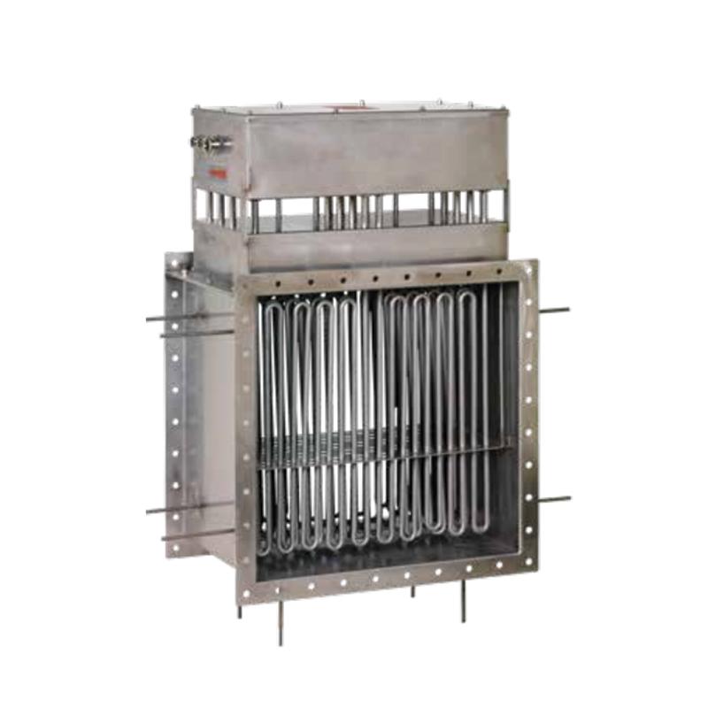Канальные нагреватели для нагрева воздуха