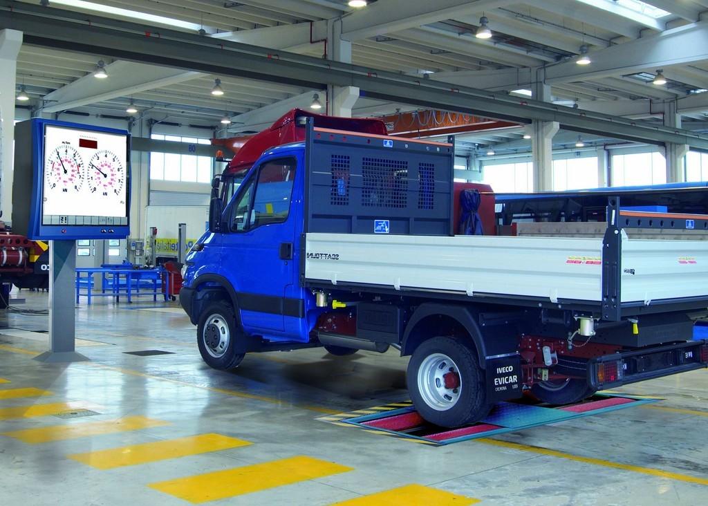 Роликовый тормозной стенд для коммерческого транспорта MBT 3200 LON