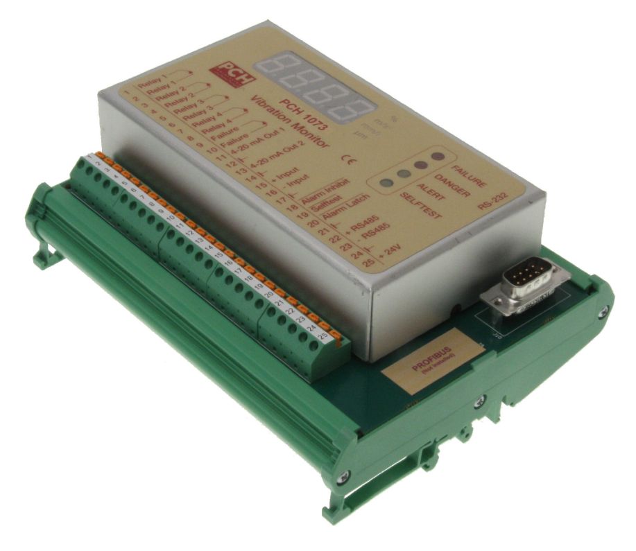 Вибрационный монитор PCH 1073