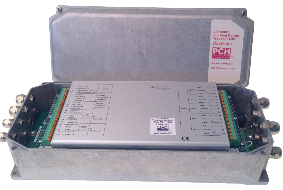 Монитор вибрации PCH 1008 (2 канала)