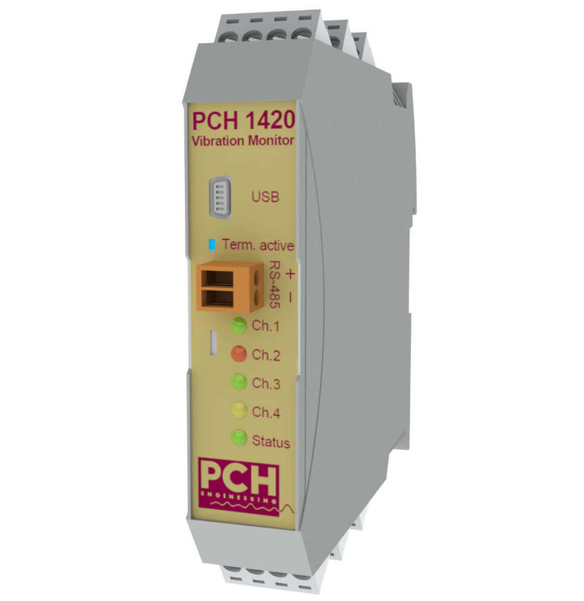 Монитор вибрации PCH 1420 (4 канала)