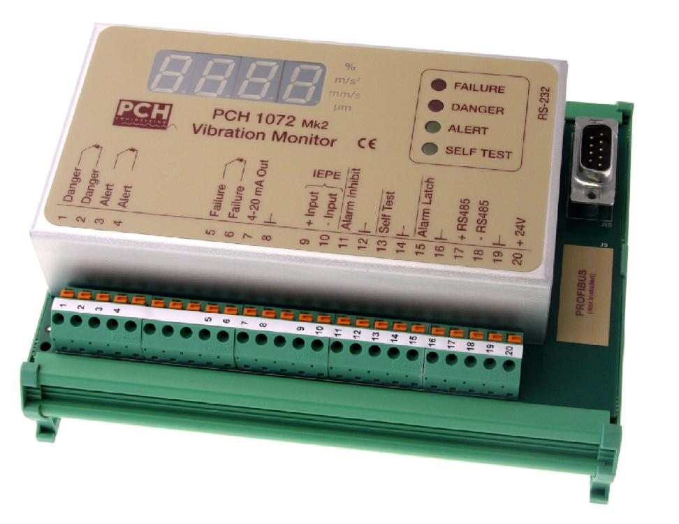 Вибрационный монитор PCH 1072