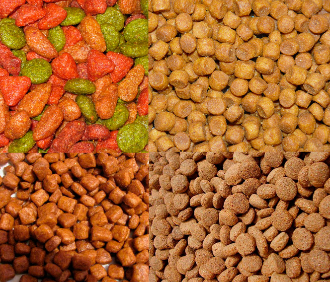 Измерение влаги корма для домашних животных