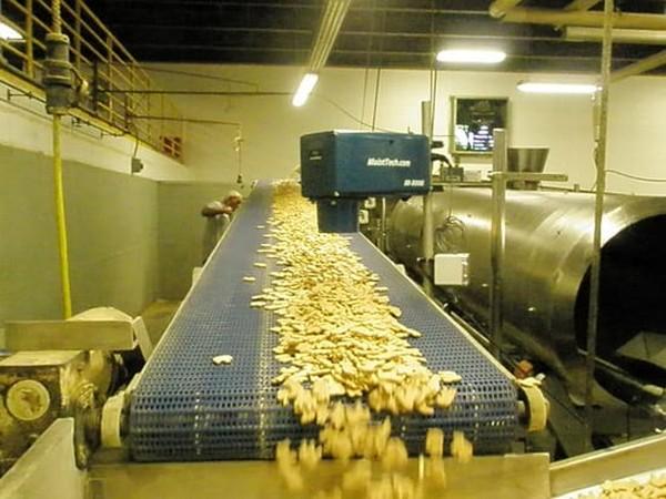 Измерение влажности при производстве пищевых продуктов питания