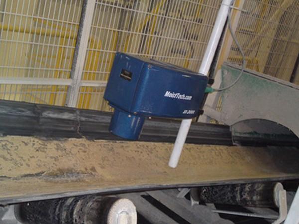 Измерение влажности полезных ископаемых