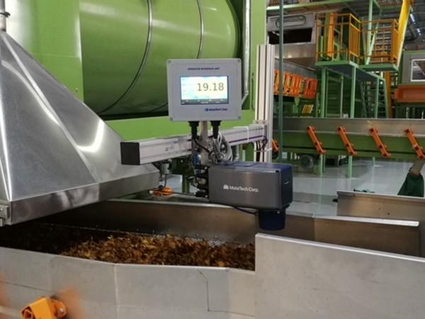 Измерение влажности при производстве табака