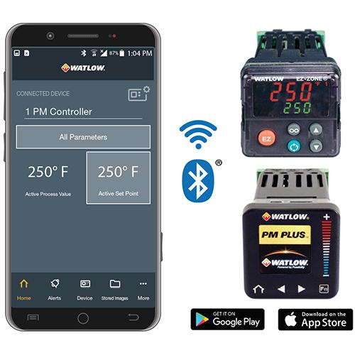 Мобильное приложение Watlow EZ-LINK