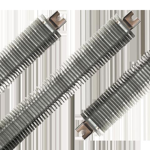 Алюминиевые оребренные нагреватели FINBAR