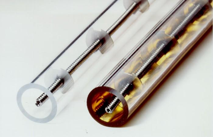Инфракрасные ламповые излучатели с круглой трубкой