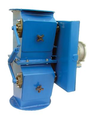 Двойной клапан сброса Aerodyne GatorGate для сухих материалов