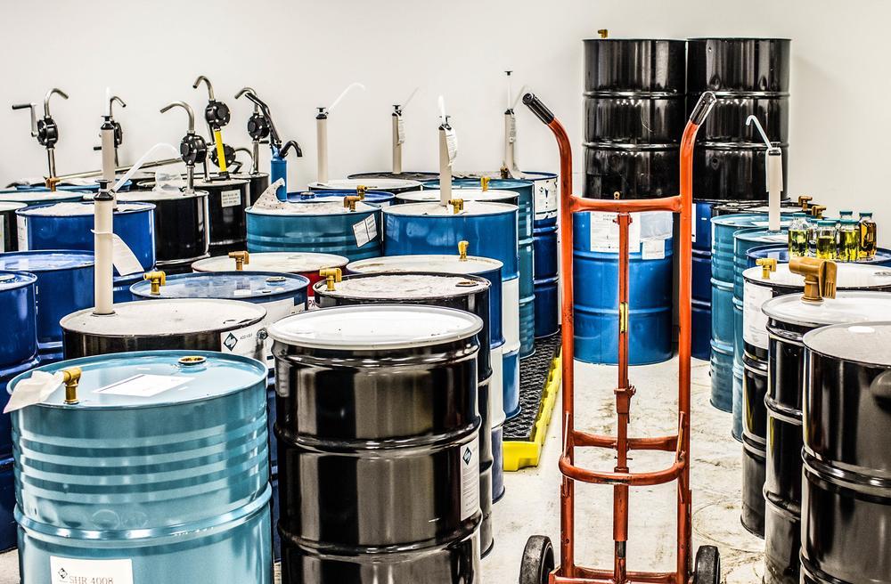 Смесители для производства химикатов и жидкой химии
