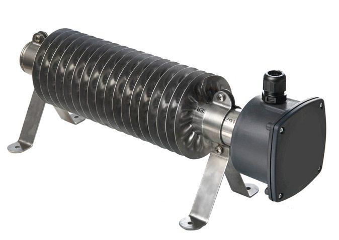 Нагреватели с ребристыми трубками типа WD-H-RVS