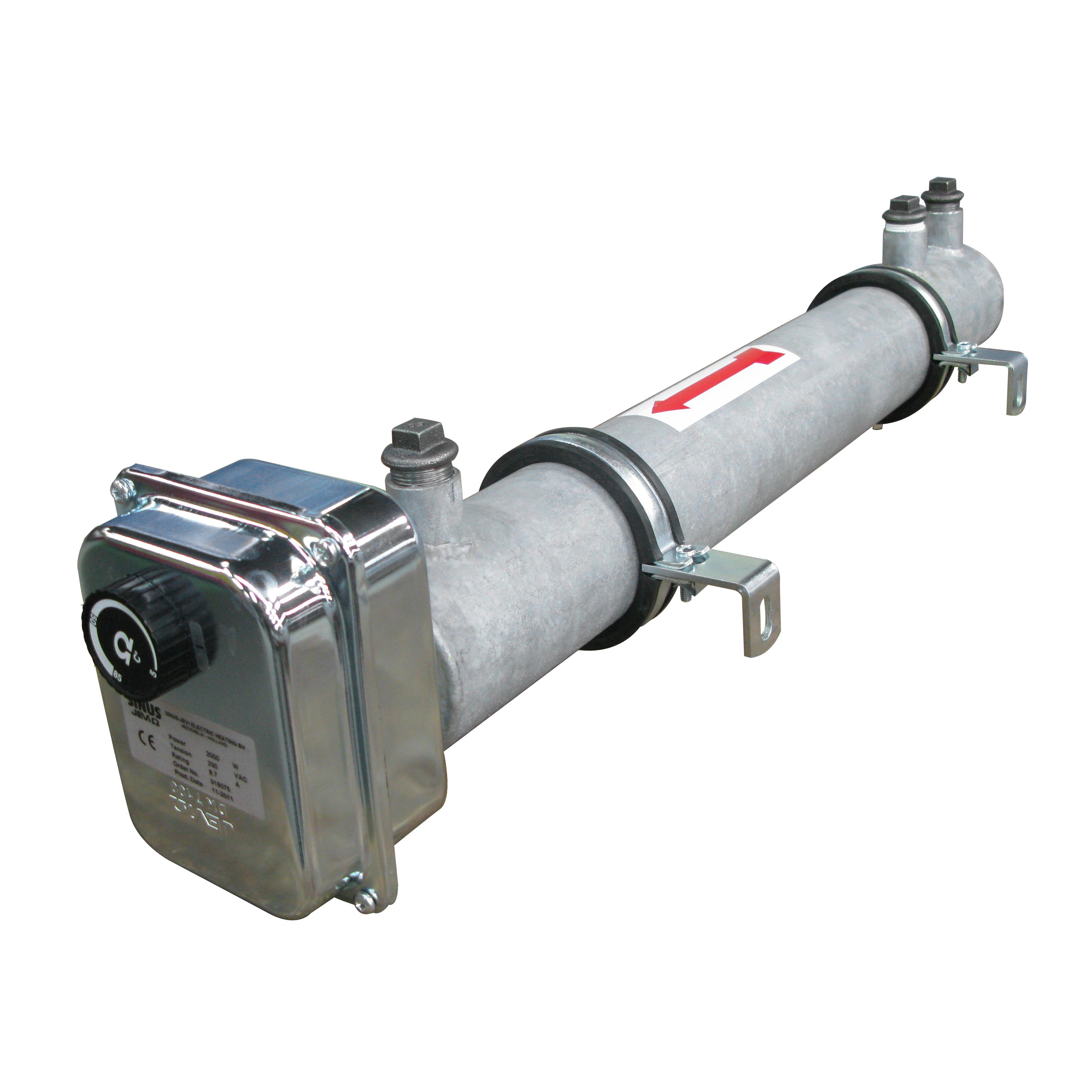 Поточные водонагреватели серии BVU-D