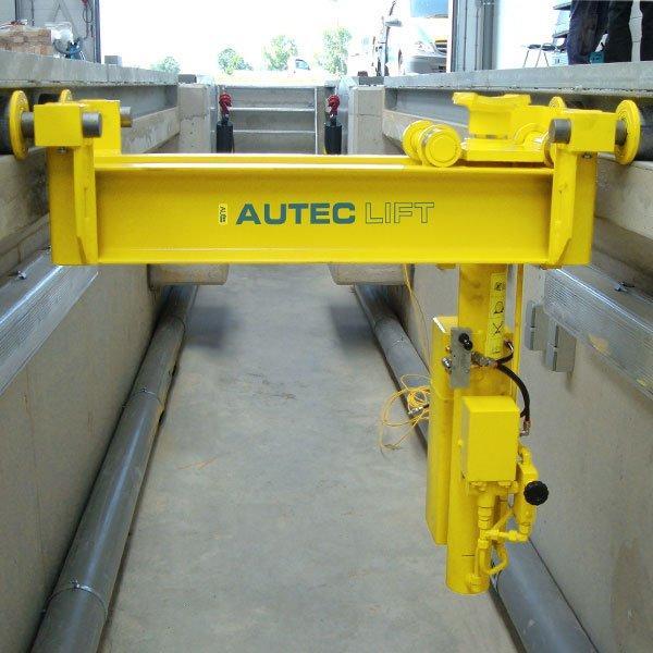 Гидравлический домкрат Autec VLT BPJ-VA15APK - 15 000 кг