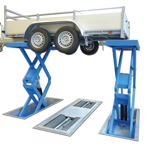 Подъемник для прицепов Autec VLT ASG4006CAR - 4000 кг