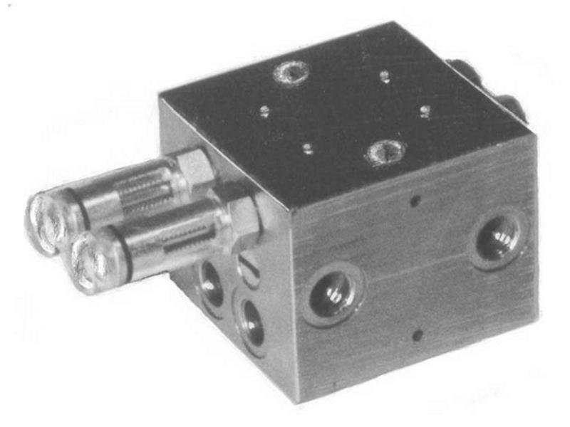 Двухлинейный распределитель VZF-B