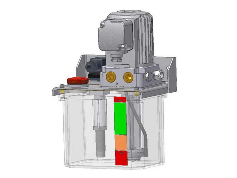 Однолинейный шестеренчатый насос для жидкой смазки GE51