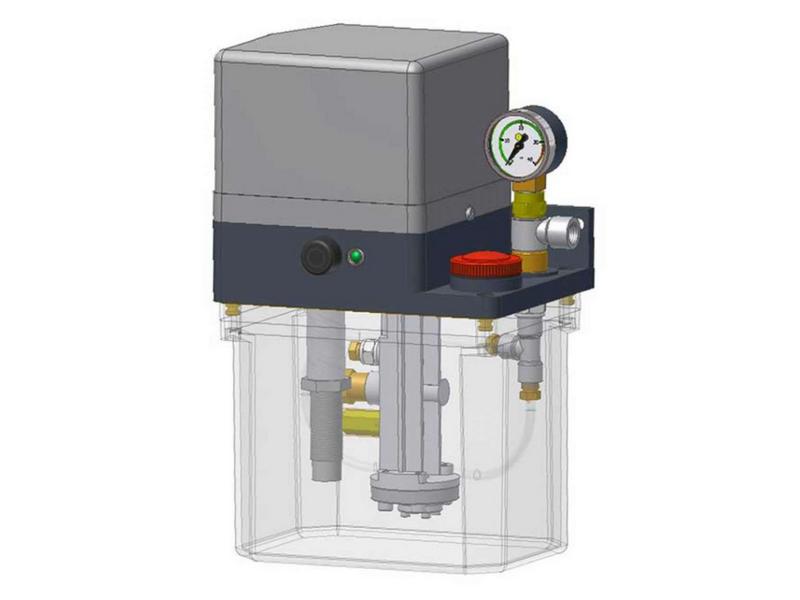 Однолинейный шестеренчатый насосный агрегат GE71